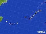 2018年01月09日の沖縄地方のアメダス(風向・風速)