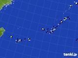 2018年01月12日の沖縄地方のアメダス(風向・風速)