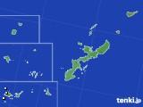 2018年01月16日の沖縄県のアメダス(降水量)