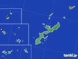 2018年01月22日の沖縄県のアメダス(降水量)