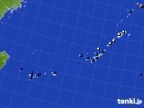 2018年01月22日の沖縄地方のアメダス(日照時間)