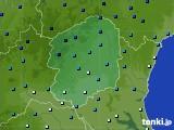 栃木県のアメダス実況(気温)(2018年01月27日)