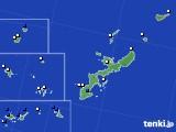 沖縄県のアメダス実況(風向・風速)(2018年01月27日)