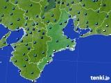 三重県のアメダス実況(気温)(2018年01月28日)