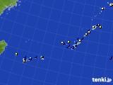 2018年01月29日の沖縄地方のアメダス(風向・風速)