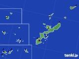 沖縄県のアメダス実況(日照時間)(2018年01月30日)