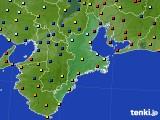 三重県のアメダス実況(日照時間)(2018年02月03日)