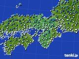 アメダス実況(気温)(2018年02月03日)