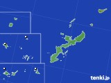 沖縄県のアメダス実況(降水量)(2018年02月04日)