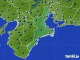 2018年02月04日の三重県のアメダス(気温)