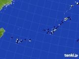 2018年02月17日の沖縄地方のアメダス(風向・風速)