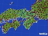 2018年02月26日の近畿地方のアメダス(日照時間)