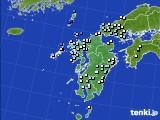 九州地方のアメダス実況(降水量)(2018年02月28日)