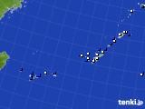 2018年03月01日の沖縄地方のアメダス(風向・風速)