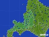 道央のアメダス実況(気温)(2018年03月14日)