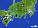 東海地方のアメダス実況(降水量)(2018年03月20日)