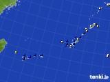 沖縄地方のアメダス実況(風向・風速)(2018年03月20日)