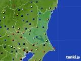 茨城県のアメダス実況(日照時間)(2018年03月22日)