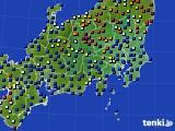 2018年04月05日の関東・甲信地方のアメダス(日照時間)