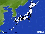 2018年04月06日のアメダス(風向・風速)