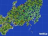 2018年04月07日の関東・甲信地方のアメダス(日照時間)