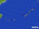 2018年04月07日の沖縄地方のアメダス(風向・風速)