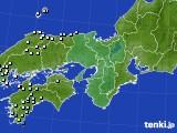 2018年04月14日の近畿地方のアメダス(降水量)