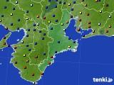 2018年04月15日の三重県のアメダス(日照時間)