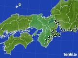 2018年04月17日の近畿地方のアメダス(降水量)