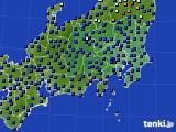 2018年04月17日の関東・甲信地方のアメダス(日照時間)
