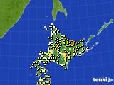 アメダス実況(気温)(2018年04月21日)