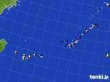 2018年04月21日の沖縄地方のアメダス(風向・風速)