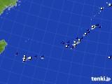 2018年04月23日の沖縄地方のアメダス(風向・風速)