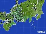 東海地方のアメダス実況(降水量)(2018年04月24日)