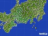 東海地方のアメダス実況(気温)(2018年04月24日)