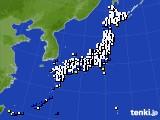 アメダス実況(風向・風速)(2018年04月24日)