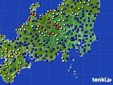 2018年04月27日の関東・甲信地方のアメダス(日照時間)