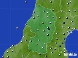 山形県のアメダス実況(風向・風速)(2018年05月01日)