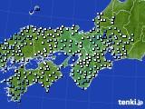 2018年05月02日の近畿地方のアメダス(降水量)