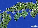 四国地方のアメダス実況(降水量)(2018年05月02日)