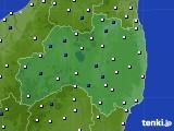 福島県のアメダス実況(風向・風速)(2018年05月02日)