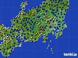 関東・甲信地方のアメダス実況(日照時間)(2018年05月03日)