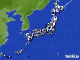 2018年05月04日のアメダス(風向・風速)