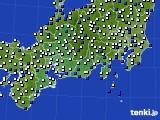 東海地方のアメダス実況(風向・風速)(2018年05月05日)