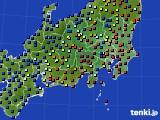 関東・甲信地方のアメダス実況(日照時間)(2018年05月06日)