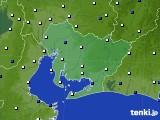 愛知県のアメダス実況(風向・風速)(2018年05月06日)