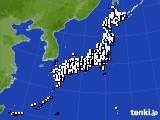 アメダス実況(風向・風速)(2018年05月08日)