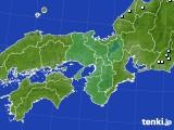 近畿地方のアメダス実況(降水量)(2018年05月09日)