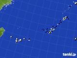 沖縄地方のアメダス実況(風向・風速)(2018年05月11日)