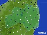 福島県のアメダス実況(風向・風速)(2018年05月11日)